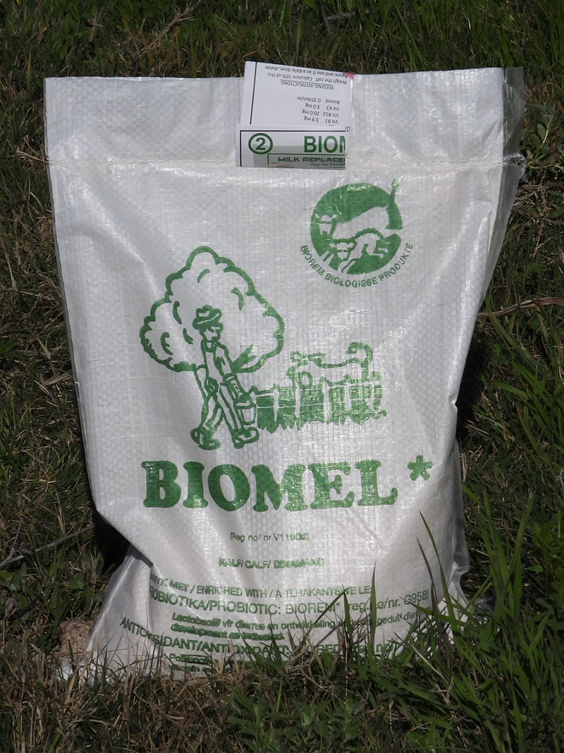 Biomel milk replacer for calves 2.5kg